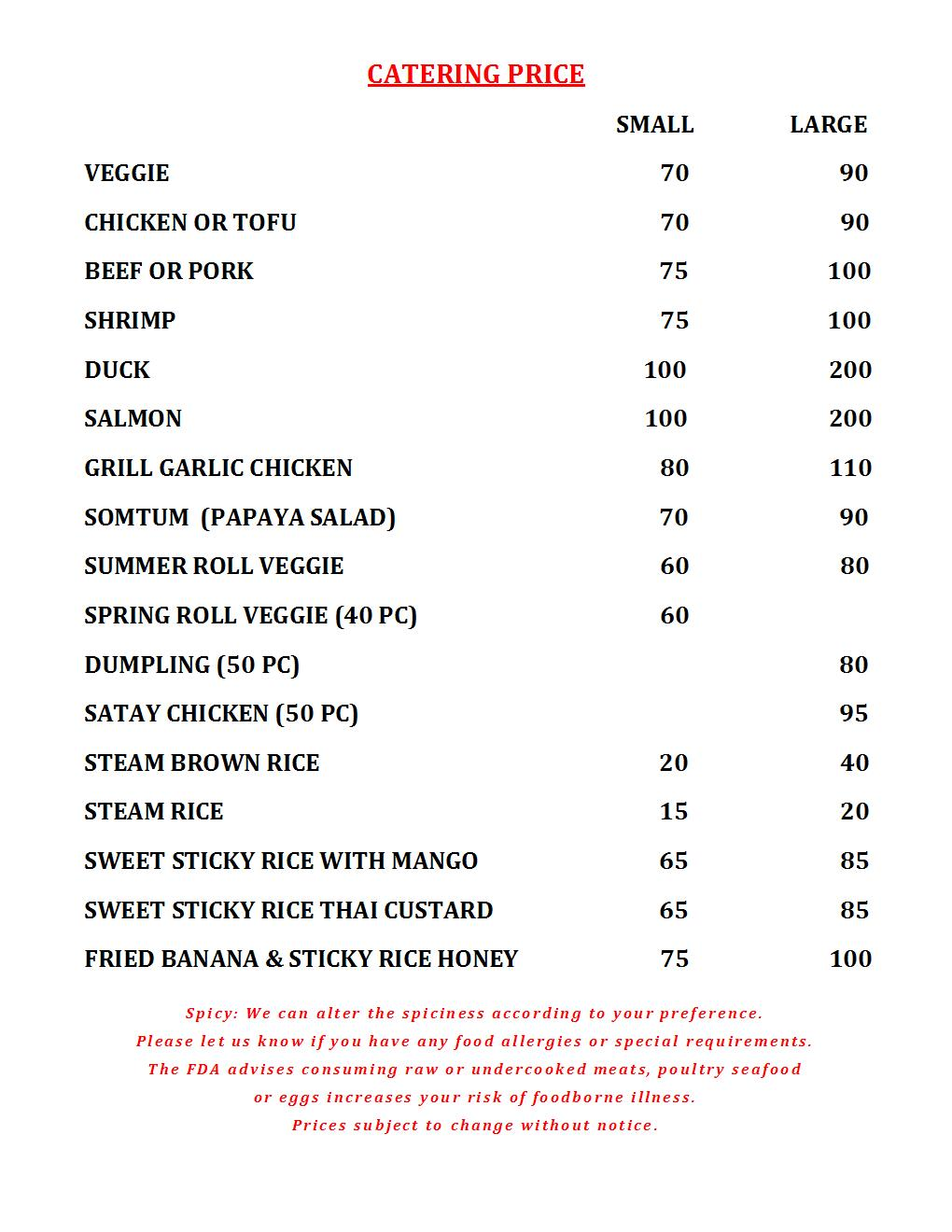 CATERING MENU ROODLE-7